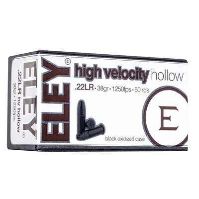Eley High Velocity Hollow .22LR
