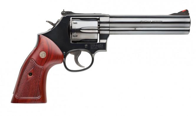 Smith & Wesson 586 6tum .357mag/.38spl +p