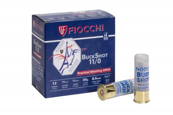 Fiocchi 12/70 F3 Buckshot Open 30G