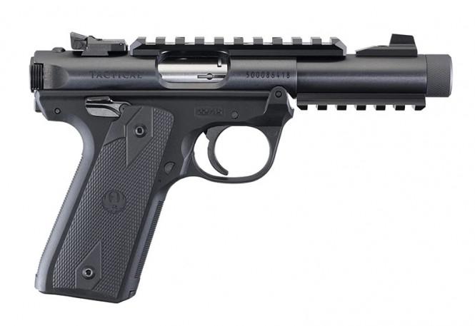 PISTOL RUGER MKIV 22/45 TACTICAL.22 LR