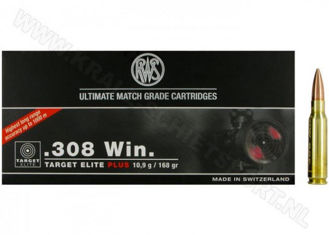 RWS .308win 168gr Target Elite Plus