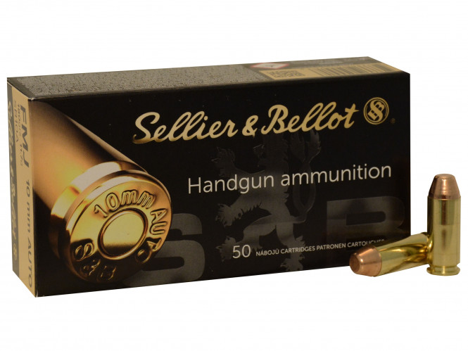 Sellier & Bellot 10mm auto FMJ 180gr
