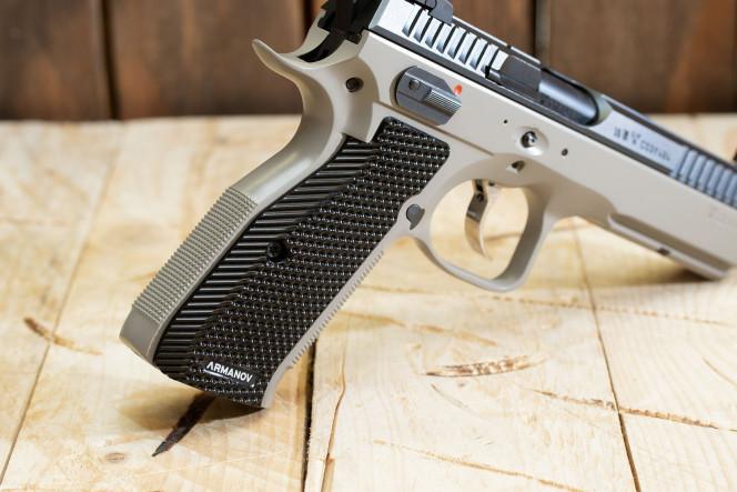 SpidErgo LONG M Pistol Grips CZsp01/02 BLK