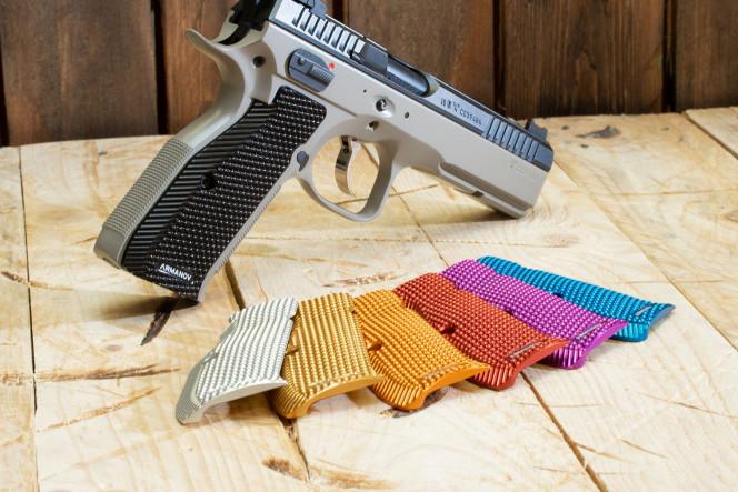 SpidErgo LONG S Pistol Grips CZsp01/02 BLK
