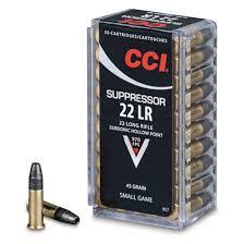 CCI .22lr Supressor